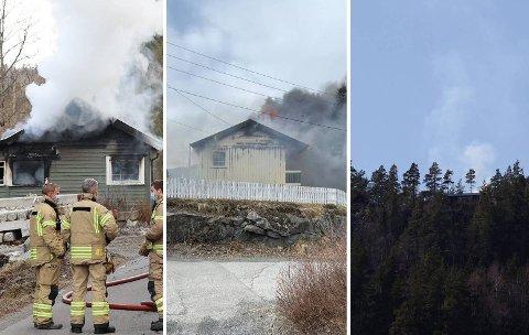 TRE BRANNER: I løpet av den siste uken har det vært tre branner innenfor samme område i Larvik.