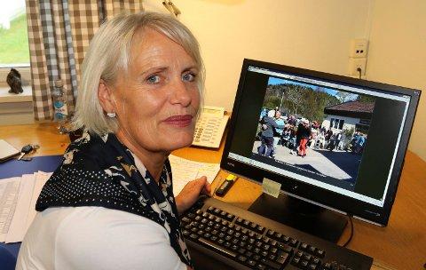 BER OM SVAR:  Prosjektkoordinator Marion Engeli håper på mange svar og forslag til aktiviteter for seniorer i Våler.