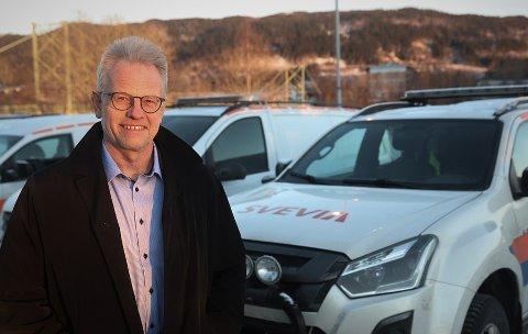 FÅTT MYE KRITIKK: Lars Reitan er daglig leder i Svevia Norge AS.