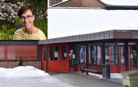 GLEDER SEG: Kristin LIndberget er innstilt som nummer én til stillingen som styrer på Løten Helsetun.