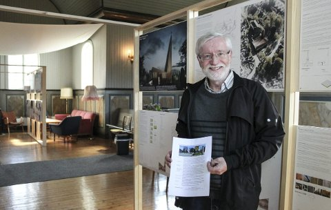 Einar Svendsen sier rundt 70 var innom for å se kirkeforslagene lørdag, og like mange søndag. Forslagene er utstilt også i biblioteket, Ælvespeilet, Vestre kirke og kirkestua, og du kan sende epost med kommentarer til kirkekontoret.