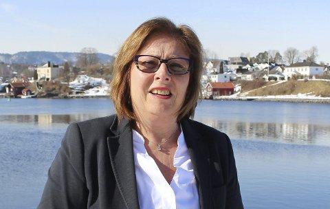 IKKE FORNØYD: Høyres Anne Karin Alseth Hansen.