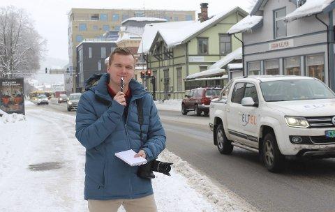 FORVIRRA: PDs journalist Trond Arvid Alund er en smula forvirra, og ønsker tips om steder og aktiviteter som kan komme andre nyinnflyttere til gode.