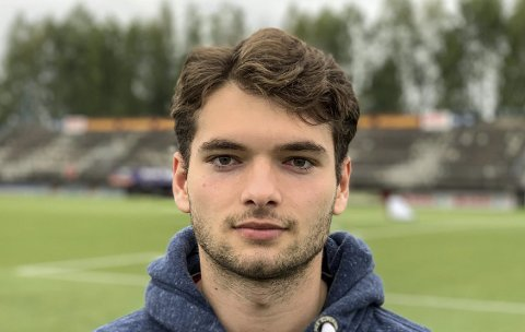 Ny: Makhmad Ibragimov er en av flere nye i Pors i sommer.