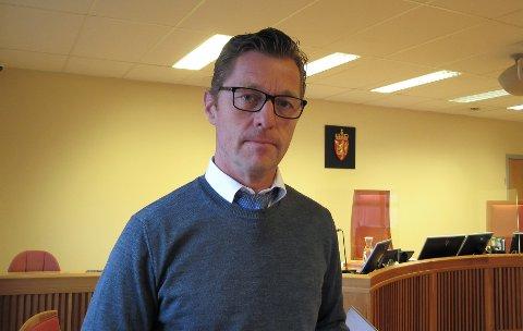 AKTOR: Politiinspektør Odd Skei Kostveit la ned påstand om fengsel.
