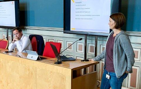 Kari Floten har tidligere orientert ordfører og politikere. Nå starter veiprosjektet offisielt.