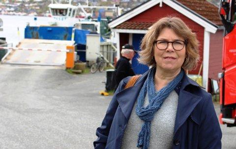 Lena Karoliussen er styreleder i Sandøya Montessoriskole. Hun er godt fornøyd med at styret har fått ryddet opp og skapt en sunn økonomi ved skolen.