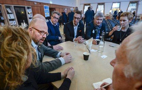 Samarbeid: Daglig leder i BRUS, Odd Emil Ingebrigtsen tror på et samarbeid med Ranaregionen. F.v.: ranaordfører Geir Waage, Odd Emil Ingebrigtsen, leder i Luleå næringsliv Matz Engman, Tord Kolstad og Grete Kristoffersen.