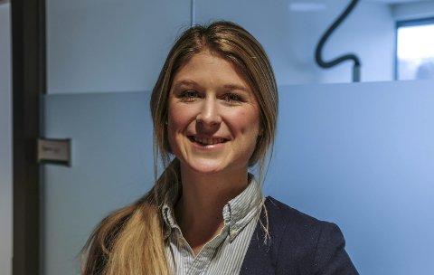 Transport og logistikk: Kristin Frodahl Rognerud skal jobbe videre med og utvikle MidtSkandia.Foto: Øyvind Bratt