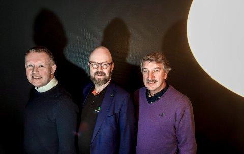 PLU Polarsirkelen Lufthavn utvikling. Henrik Joihansen, Geir Waage og Kenneth Svendsen.
