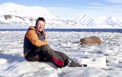 Konflikt og nordområder: Mest av alt trives Torbjørn Pedersen i turklær, og da aller helst i polare strøk. Privat foto