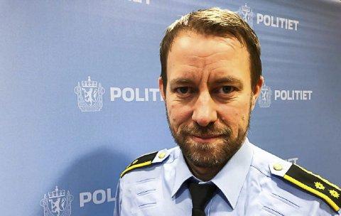 Ny sjef: Politiet på Nord-Helgeland har fått en ny sjef. Kristian Hanssen fra Vefsn blir politistasjonssjef og GDE-leder. Han starter i jobben 4. januar. Foto: Politiet