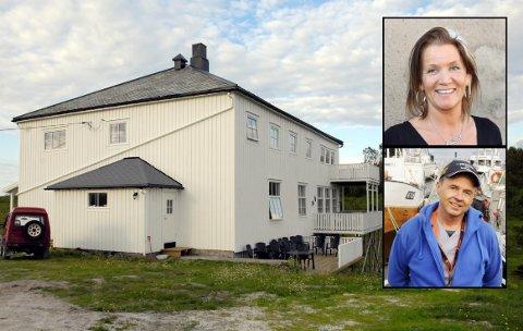 NYTT PROSJEKT: Anne Berit Tilrem og Odd Petter Olderskog Leknes skal fra nyttår gå i gang med et nytt prosjekt. De har nemlig kjøpt Skogsholmen gjestehus.