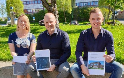 Fra venstre: Katrine Tuven, Tor-Håkon Lynghei og Hogne Andreas Vangen.