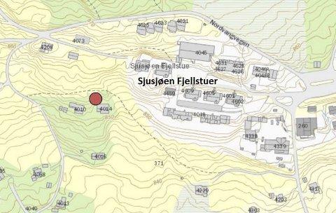 KLAGE: En veg inn til en hytte ved Sjusjøen Fjellstuer har skapt uenighet.