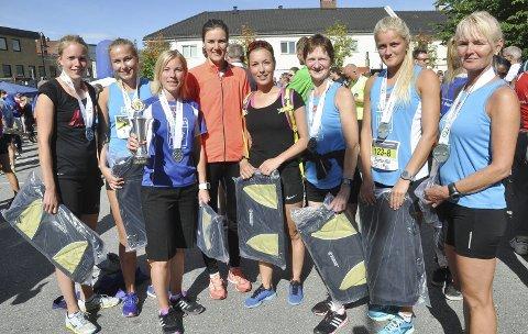 Vinner i dameklassen (stafett, åtte etapper) var Hytteplan høy fart.