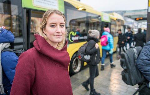HADELANDSSAK: Sandra Bruflot (H) tar opp Jevnaker og Lunners plass i takstsoner.