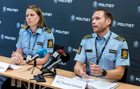 Cecilie J. Sandbakken og Per Thomas Omholt
