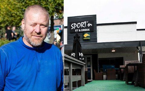STENGTE DØRER: Sport'n Et & Drekk er for tiden stengt. Puben har for tiden ikke skjenkebevilling.
