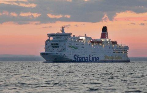 Danskebåten Stena Saga har sluttet å ta imot kontanter. Foto: Erik Johansen / NTB scanpix