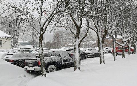 KLAR TALE: Ikke alle satte pris på parkeringen til Ivar Granum.
