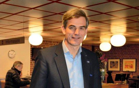 UT MOT RÅDMANNEN: – Medlemmer av toppledergruppa kjenner seg ikke igjen i notatet, og opplever anklagene fra rådmannen som sårende, sier ordfører Bjørn Ole Gleditsch.
