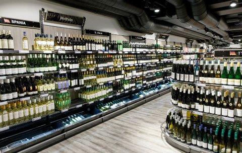 BILLIGERE: Mange viner er blitt kraftig redusert i pris fra nyttår.