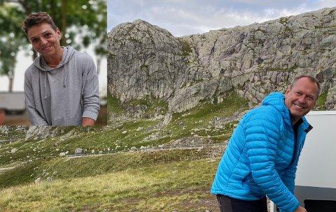 Inger Anita Merkesdal og Stig Øvstedal har nylig etablert et selskap sammen.