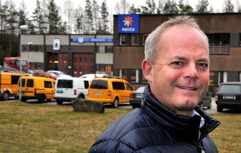 OVERTOK I 2015: Det er tre år siden Jack Valleraune fortalte om kjøpet av den tidligere veistasjonen til Mesta i Gamle Kongevei på Bjørnstad.
