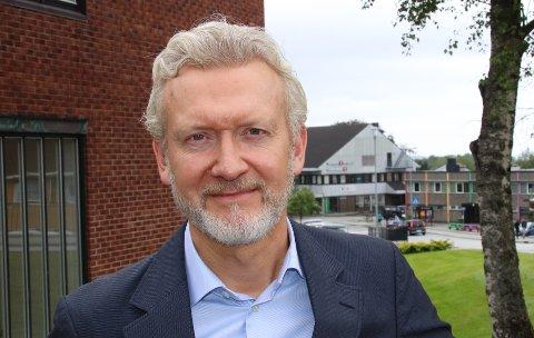 KONSEKVENT: Rådmann Ketil Reed Aasgaard opplever at kommuneadministrasjonen har holdt seg på en konsekvent linje. Arkivfoto.