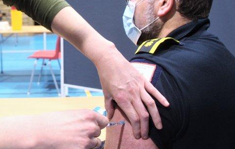 EN FEIL: En mann fra Lillehammer er innkalt, men behøver ikke møte opp til vaksinering i Tau aktivitetshus. Det hele beror på en feil.