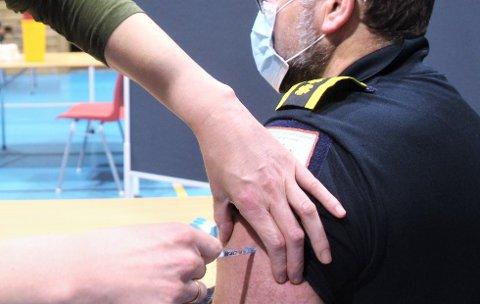 ANDRE GANG: For andre gang er en mann fra Lillehammer innkalt til vaksinering i Strand.