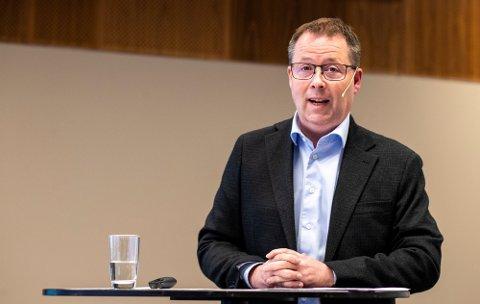 Aktuell som statsråd: Bjørn Arild Gram er på vei inn i den nye regjeringen, ifølge Aftenposten.