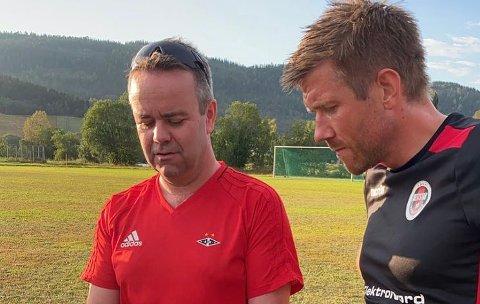Kommer med senkede skuldre: Trener for Beitstad FK Ola Røsegg stiller med en plan og senkede skuldre når de tar i mot Innherred FK i Trøndersk Mesterskap på lørdag.