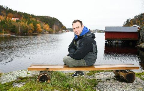 ØYNER BEDRE TIDER: Kevin Svensson velger å være åpen om sine rusproblemer. Nå har han spurt Pors om de kan starte gatelag, noe klubben har sagt ja til. Foto: Kristian Holtan