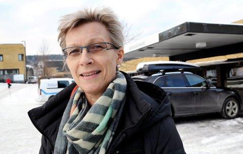 ÅPEN: Fagdirektør ved Sykehuset Telemark, Halfrid Waage, velger å være åpen om sin situasjon.
