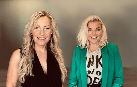 STARTET DESIGNBYRÅ: Ellen-Cathrine Østli (venstre) og Guro Ringheim Bakke (høyre) startet Nordic State i 2013.