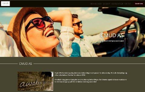 Kristiansunds herligste sted å være, sier CMUD om seg selv på sin hjemmeside. (Screenshot)