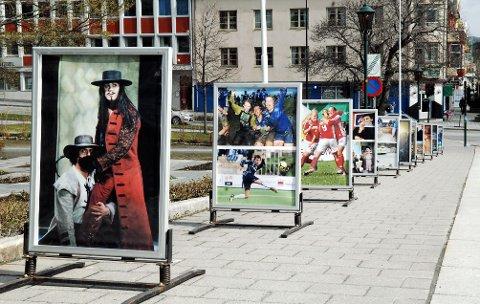 Nordic Light har preget byen mens festivalen har pågått. Men for at Kristiansund skal kunne markedsføre seg som «Fotobyen», kreves det fortgang i arbeidet, mener fylkeskommunedirektør Ottar Brage Guttelvik. Dette bildet er tatt i 2011.