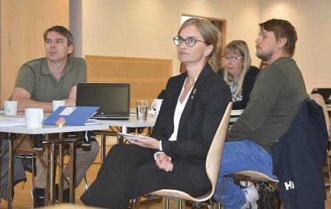 FØLGER MED: Ordfører Margrethe Svinvik følger med på utviklingen av sykefraværet i Surnadal kommune, og er glad for at det settes inn tiltak for å få ned fraværet.