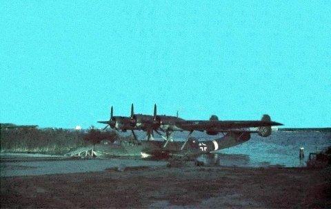 SJØFLY: Det er trolig et fly av denne typen, Dornier Do 24 som ligger på havbunnen i Oslofjorden utenfor Slagentangen. Tyskerne brukte flytypen til redningsoppdrag under den annen verdenskrig. Flyet ble dumpet av norske myndigheter i desember 1945 eller tidlig i 1946 på grunn av mangel på reservedeler.