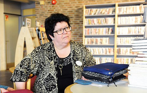 JUSTISMORD: Biblioteksjef Tone Eli Moseid mener biblioteket opprettholder et samfunnsansvar