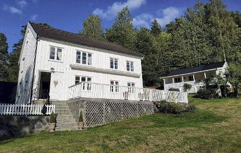 Solgt: Østeråvannsveien 3 er solgt for 4.1 millioner kroner fra Elisabeth Slette Nes og Nils Johan Nes til Stig Birkeland.