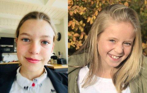 ENGASJERERSEG:Sandra Varmo (t.v.) og Fride Øien i sjuendeklasse på Rotnes skolevil ha flere med seg i klimakampen.