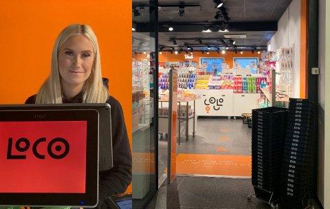MISTER JOBBEN: Butikksjefen i Loco i Tønsberg, Amalie Wettergreen (23), leste i avisen at hun har mistet jobben. Foto: Benedicte Jacobsen Hamnes