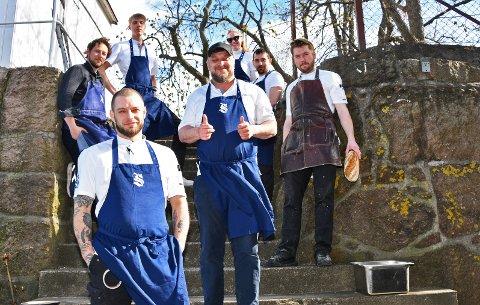 Staben på Signalen Sjøbad ser fram til gjenåpning av restauranten og gleder seg til å kunne ta imot gjester igjen.