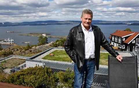 Det er med tungt hjerte Terje Berggren har lagt ut familieiendommen i Gamle Alværnvei for salg.