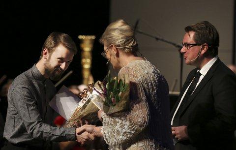 Lars Halvor Andreassen fra Kolsås var en av tre som fikk kulturstipend.