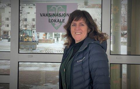 Vaksinasjonsansvarlig Gunn Inger Reiten i Sunndal.