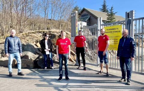 SIER NEI: Kommunestyregruppen i Sokndal Ap har tatt standpunkt i deponisaken.